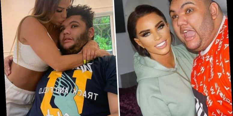Katie Price reveals son Harvey, 18, has returned to residential school after almost a year away