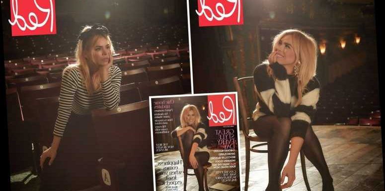 Billie Piper struts her stuff on stage for glamorous photoshoot