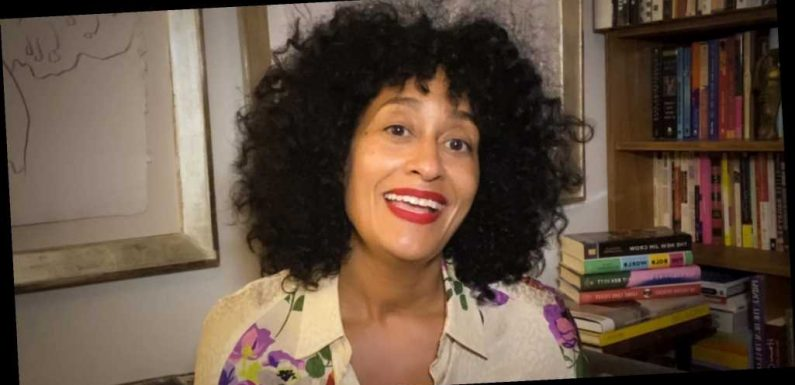 Tracee Ellis Ross Showed Off Her Gray Hair in a Topless Selfie