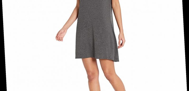 This Comfy T-Shirt Dress Will Make You Look Put-Together — and It's Only $20