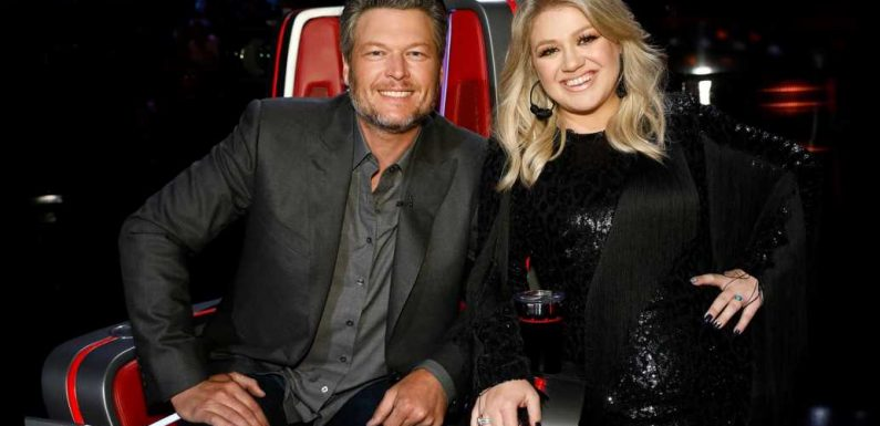 Blake Shelton Takes Playful Jab at Kelly Clarkson's American Idol Past During Blind Auditions on The Voice