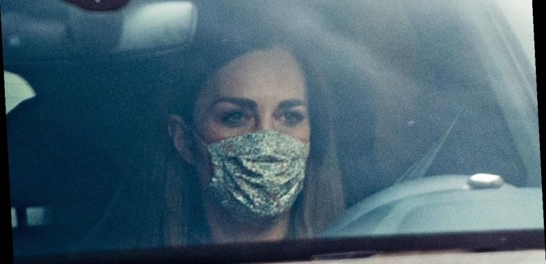 Kate Middleton Photographed After Meghan Markle's Quotes About Her Go Viral