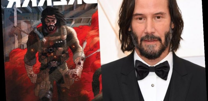 Keanu Reeves Teams Up With Netflix for Live-Action 'BRZRKR' Adaptations