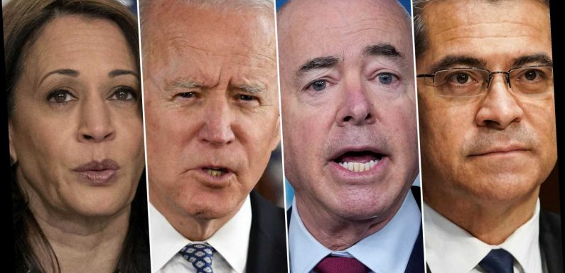 Biden to meet with top immigration officials at White House amid migrant surge