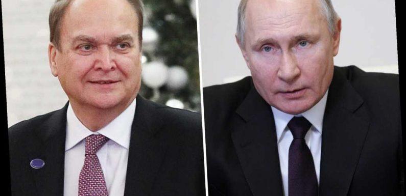 Russia calls back DC envoy after Biden calls Putin 'a killer'