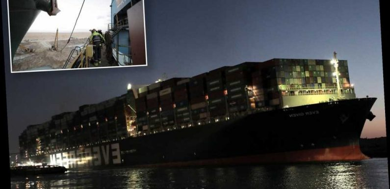 Salvage firm says fully freeing Ever Given from Suez Canal is 'no piece of cake'