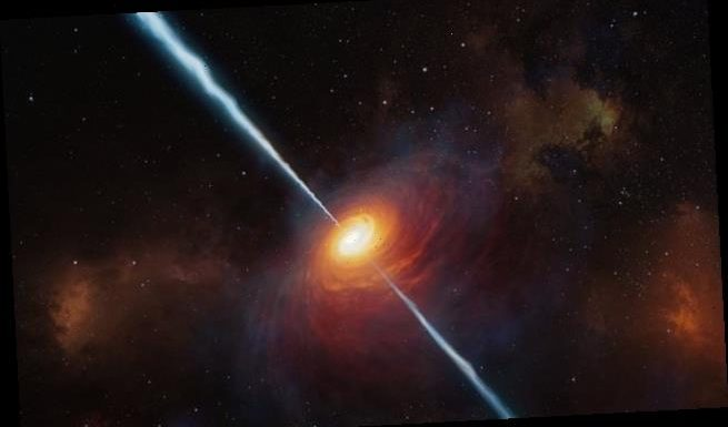 Scientists spot the most distant radio blast EVER known from a quasar