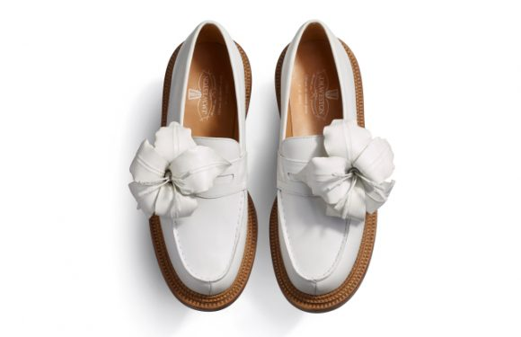 Tilda Swinton's Couture Loafers Have a Stick, Not a Penny