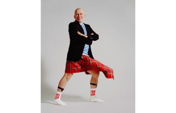 Jean Paul Gaultier Promotes Safe Sex — With Socks