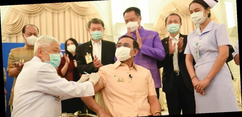 Thailand's prime minister got an AstraZeneca COVID-19 shot in public, hoping to boost confidence after more than a dozen countries paused its use