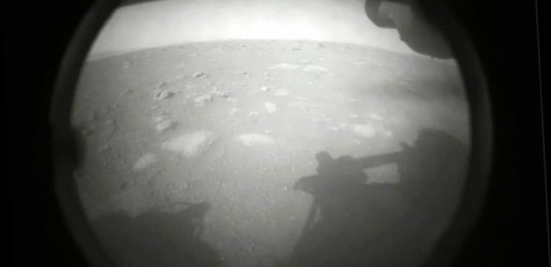 Perseverance rover captures first sounds of driving on Mars
