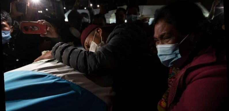 Families begin burying murdered Guatemalan migrants