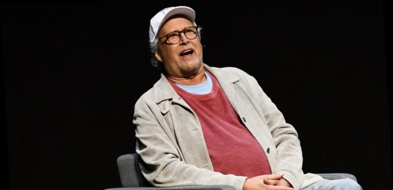 Chevy Chase at home following five-week hospital stay for a 'heart issue'