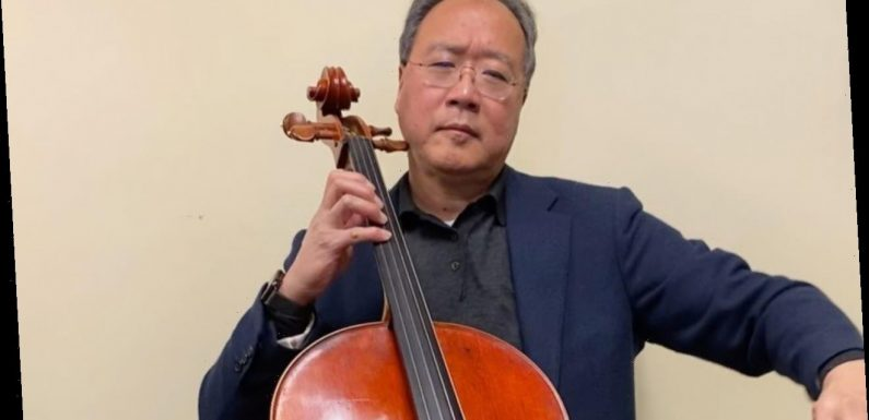 Yo-Yo Ma Delivers Surprise Performance at COVID-19 Vaccine Center