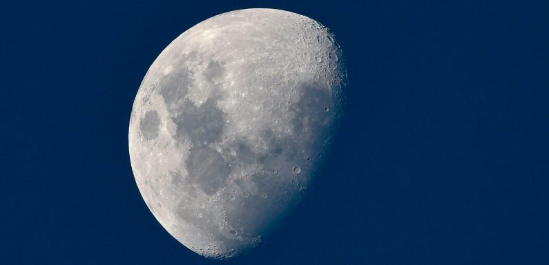 The Moon Has a Comet-Like Tail. Every Month It Shoots a Beam Around Earth.