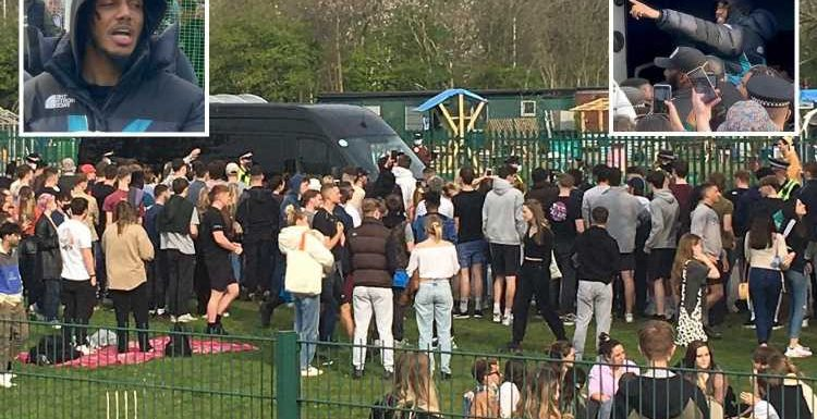 AJ Tracey gig organisers fined £10k after thousands flocked to Manchester park for event shared on Twitter despite Covid
