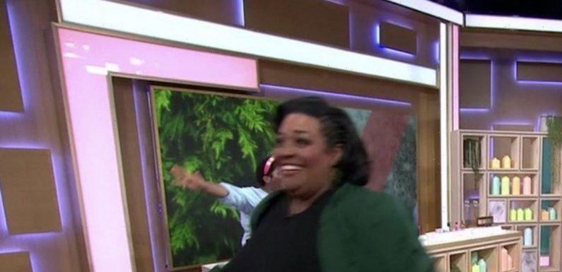 Alison Hammond runs off This Morning set to fix face after makeover goes wrong