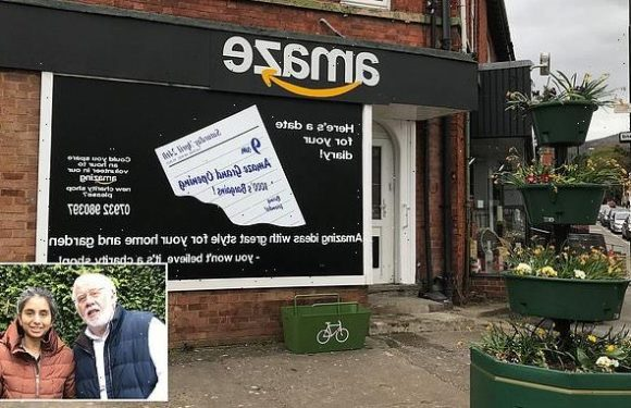 Amazon threatens legal action against shop fighting homelessness