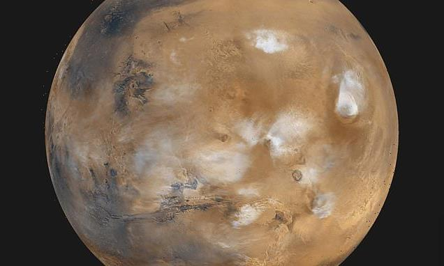 Ancient Mars could have had a thin layer of icy clouds that caused