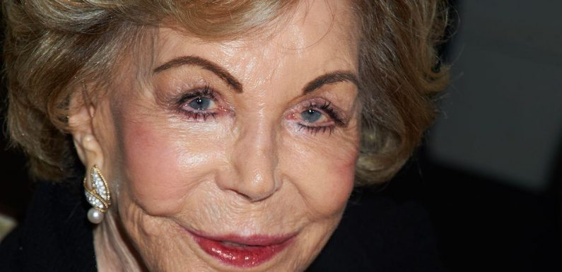 Anne Douglas, the widow of Kirk Douglas, dies aged 102