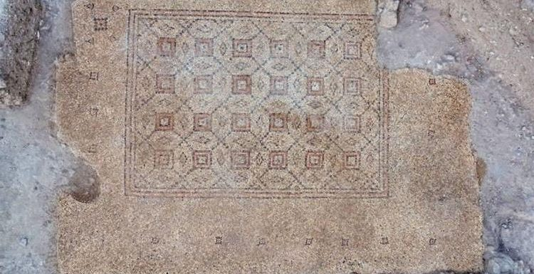 Archaeology news: 'Astonished' Israel excavators expose 1,600-year mosaic in Biblical city