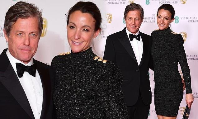 BAFTA 2021 Film Awards: Hugh Grant cuts a dapper figurein tuxedo