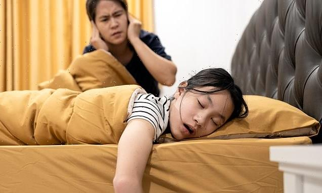 Children who SNORE have thinner grey matter which causes bad behaviour