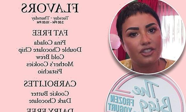 Demi Lovato gets TROLLED by frozen yogurt shop The Bigg Chill