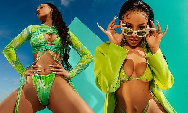Doja Cat unveils her 'colourful and juicy' new clothing range