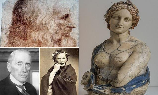 Flora bust argued to be by da Vinci dates to 300 years AFTER his death