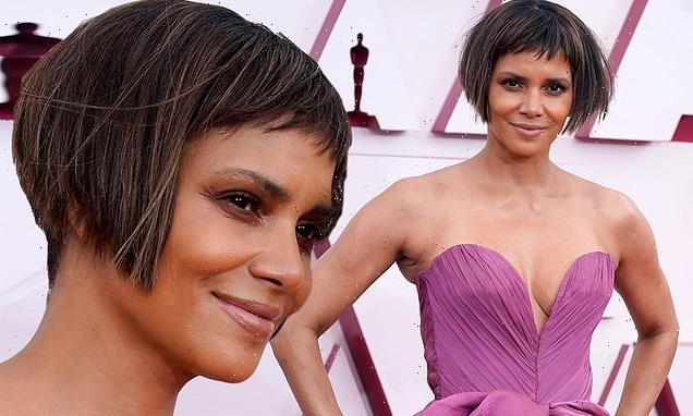 Halle Berry responds to jokes about her bold Oscars hairstyle