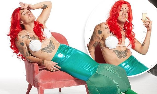 Harry Styles fans go WILD as singer dresses as The Little Mermaid