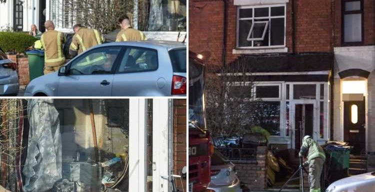 Hoarder pensioner, 84, dies after blaze ripped through 'tinderbox' home 'piled with junk'