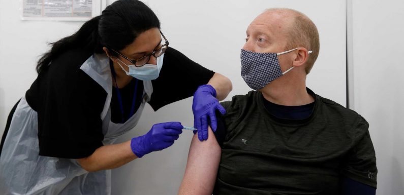 If you're 44 you can book your Covid vaccine NOW – as half of Brits jabbed