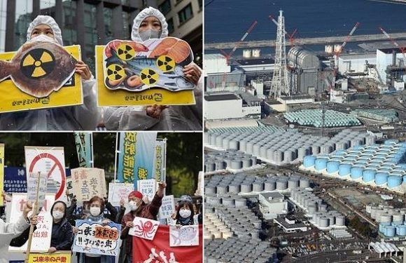 Japan will release treated Fukushima water into the Pacific in 2 years