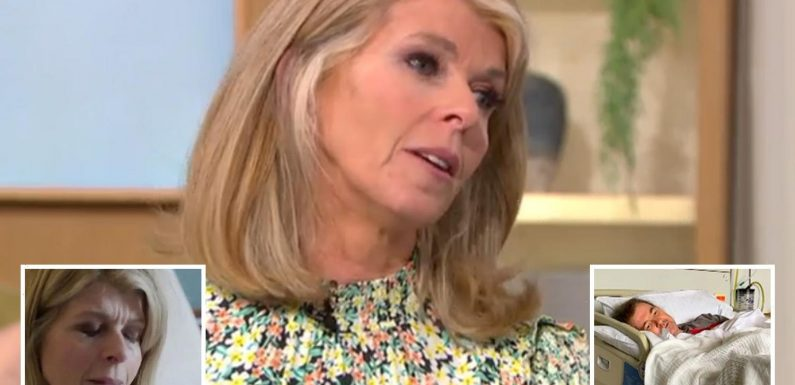 Kate Garraway insists she hasn't been 'strong' through husband's Covid battle – saying 'giving up wasn't an option'