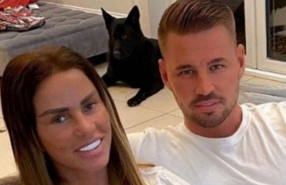 Katie Price 'engaged for 7th time to Carl Woods' in whirlwind 10-month romance