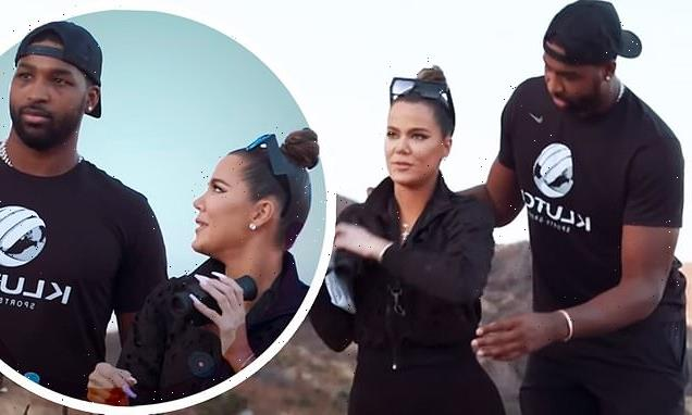 Khloe Kardashian and Tristan Thompson search for alien energy