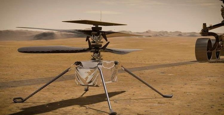 Mars 'milestone' set as NASA prepare for first flight on Red Planet