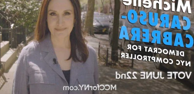 Michelle Caruso-Cabrera drops first TV ads in race for NYC comptroller
