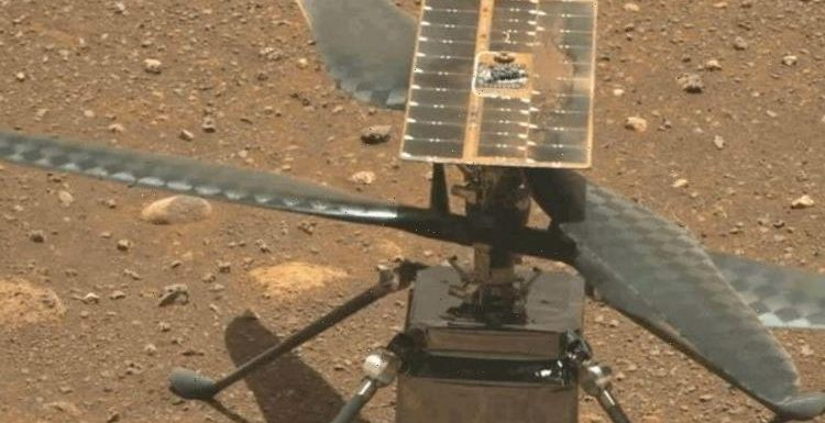 NASA's Mars helicopter Ingenuity completes historic first Martian flight – first images