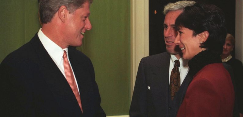New photos show Epstein and Maxwell were VIP guests in Clinton's White House