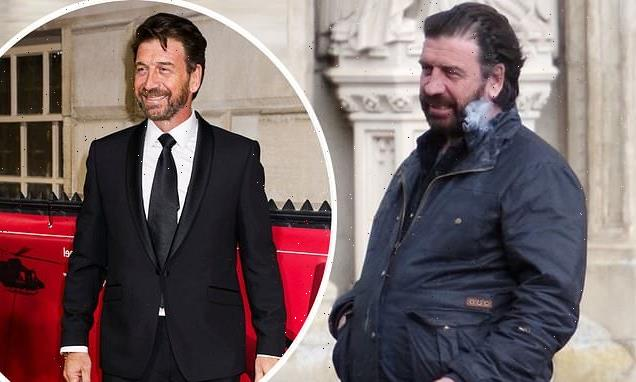 Nick Knowles shows off relaxed lockdown look while filming new show