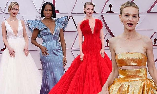 Oscars red carpet 2021: Best dressed stars arrive at Academy Awards