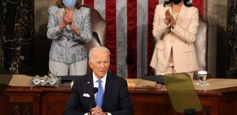 President Biden's 100-day SOTU was fantastic, and he was surrounded by women