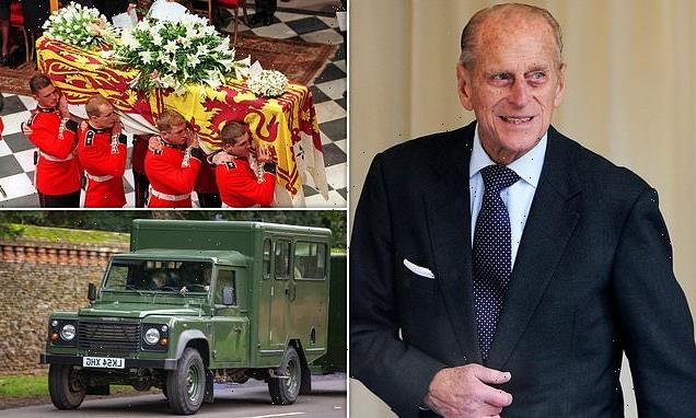 Prince Philip will be laid to rest English oak coffin lined with lead