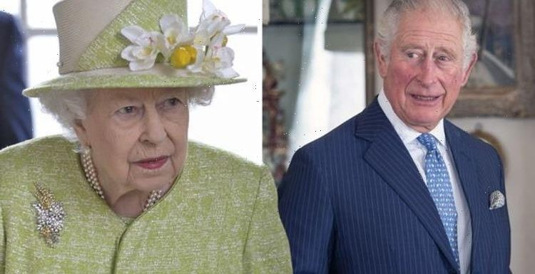 Queen 'hands over to Prince Charles' as she slows down after Philip's death