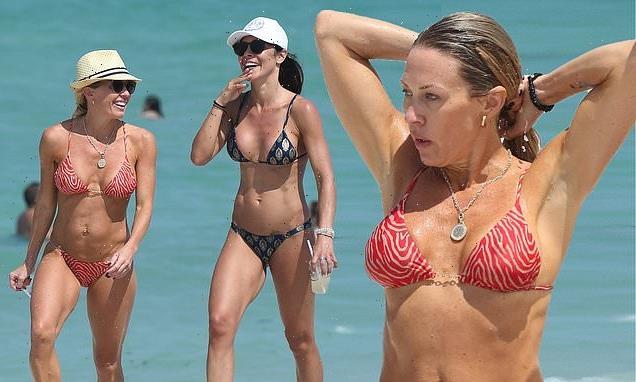RHOC star Braunwyn Windham-Burke flaunts her bikini body in Miami