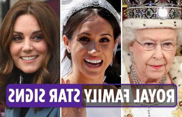 Royal family star signs – from the Queen to Meghan Markle, here's what the zodiac says about their compatibility
