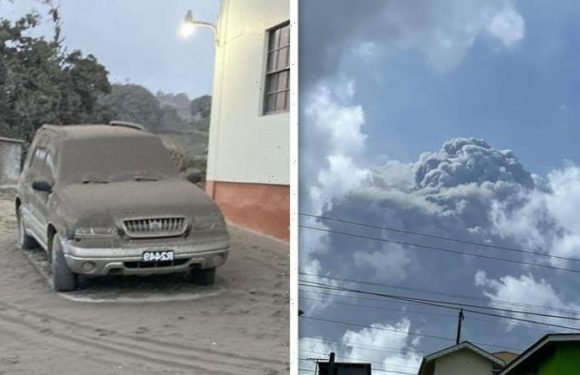 St Vincent volcano eruption: La Soufriere showers Caribbean with ash after explosive event